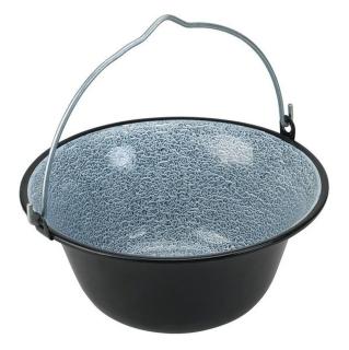 Natur-Eisen 4 l Kochlöffel Gulaschcreme Gulaschkessel